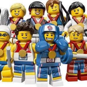 Team GB 2012 Olympic Minifigures
