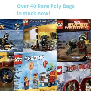Poly Bags and Exclusive Minifigures