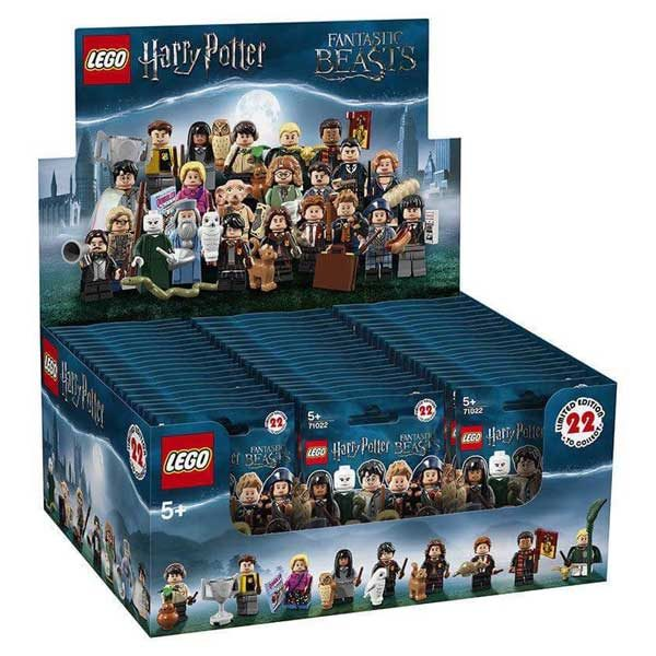 Lego Minifigures 71022 The Wizarding World Of Harry Potter Series New Sealed Box Of 60