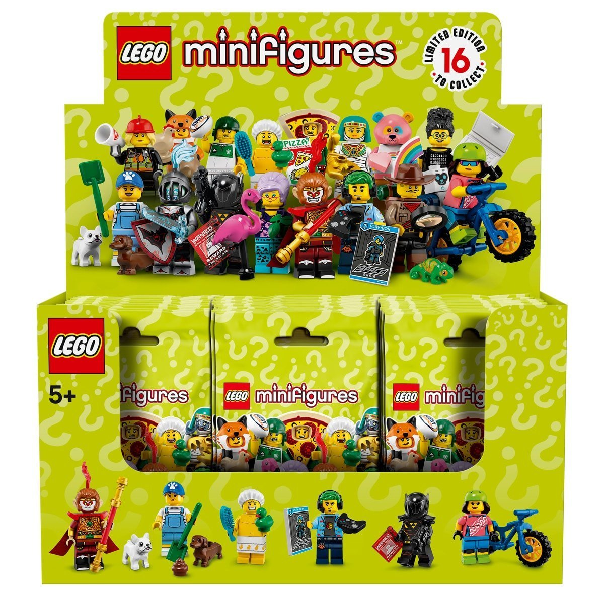 Lego minifigures series 18 unopened factory sealed choose select your minifigure