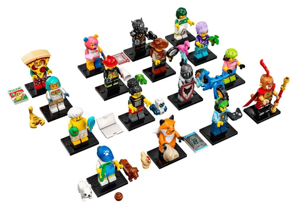 15 Rainbow Bear No New Sealed Lego Minifigures Series 19