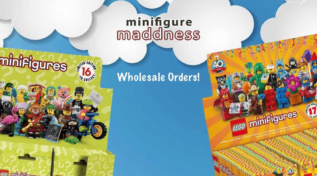 lego minifigures wholesale orders promotional image