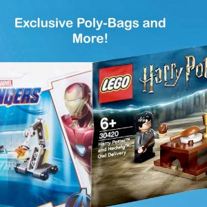 Exclusive LEGO Poly-Bags and More!